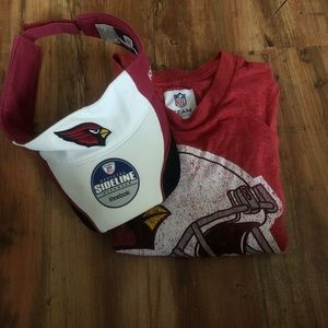 NFL Redskin hat and T-shirt